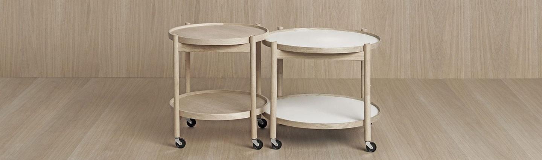 Bølling Tray Table - et bakkebord fra Brdr. Krüger hos Møblér med Bo Bedst